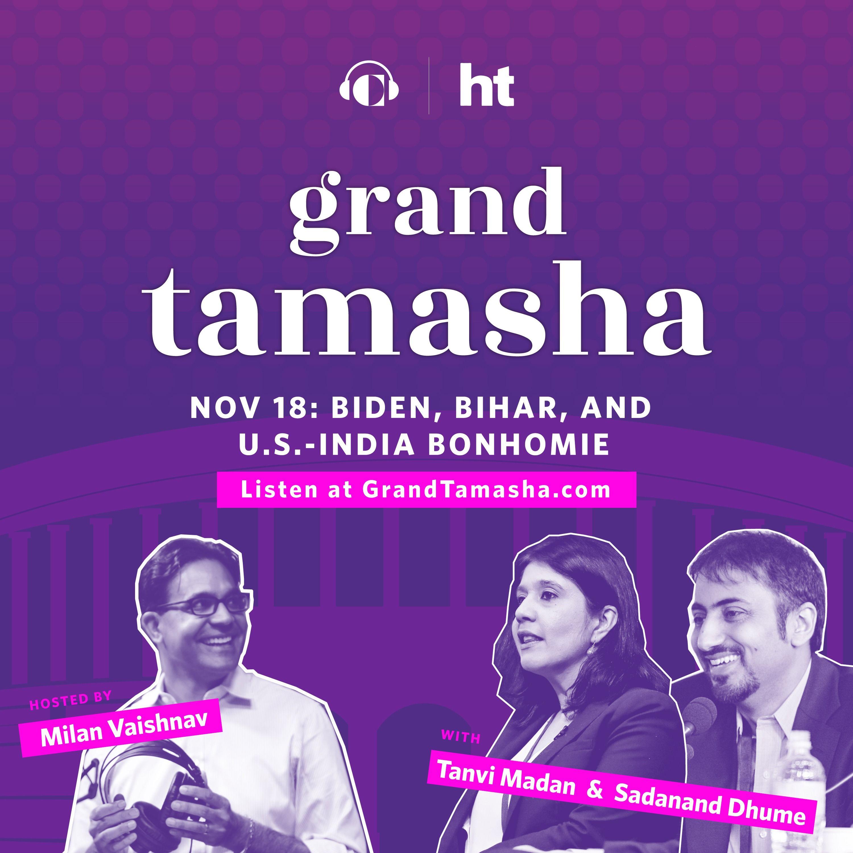 Sadanand Dhume and Tanvi Madan on Biden, Bihar, and U.S.-India Bonhomie