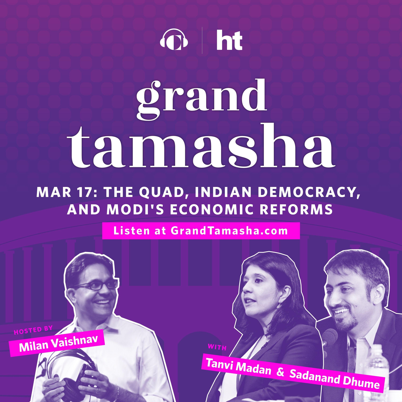 Sadanand Dhume and Tanvi Madan on the Quad, Indian Democracy, and Modi's Economic Reforms