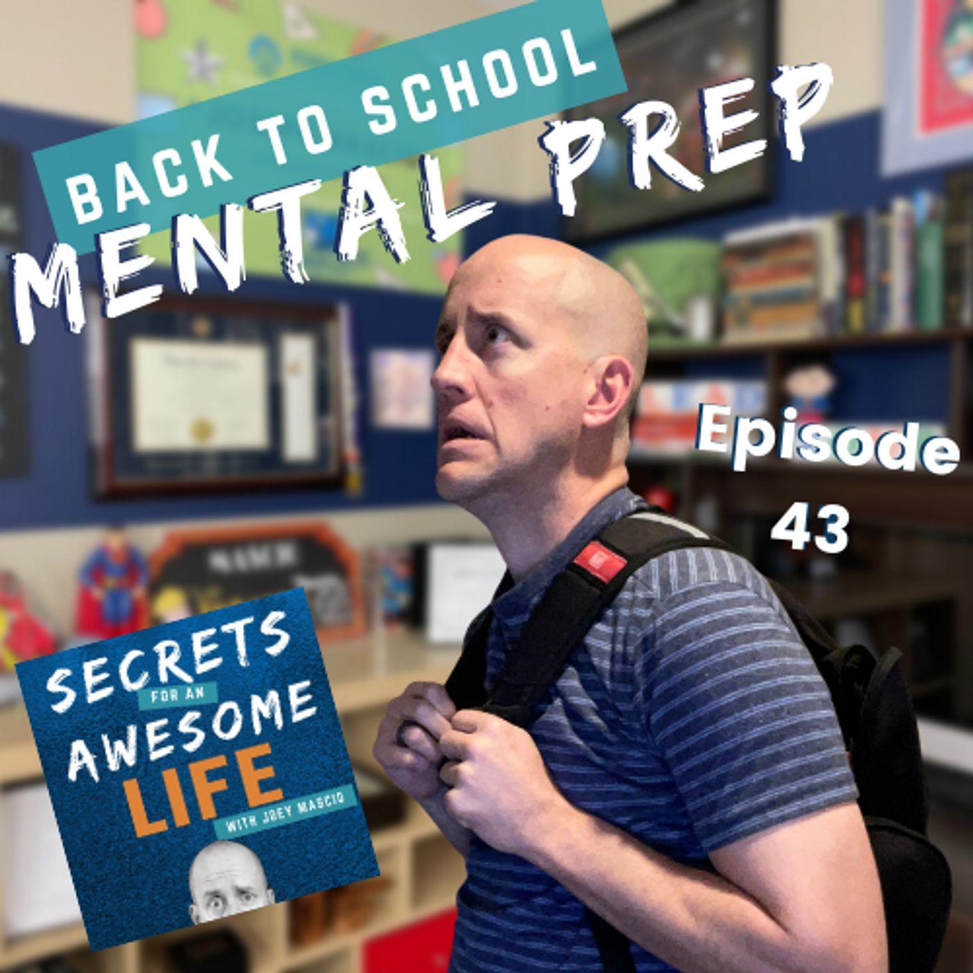 Back to School Mental Prep