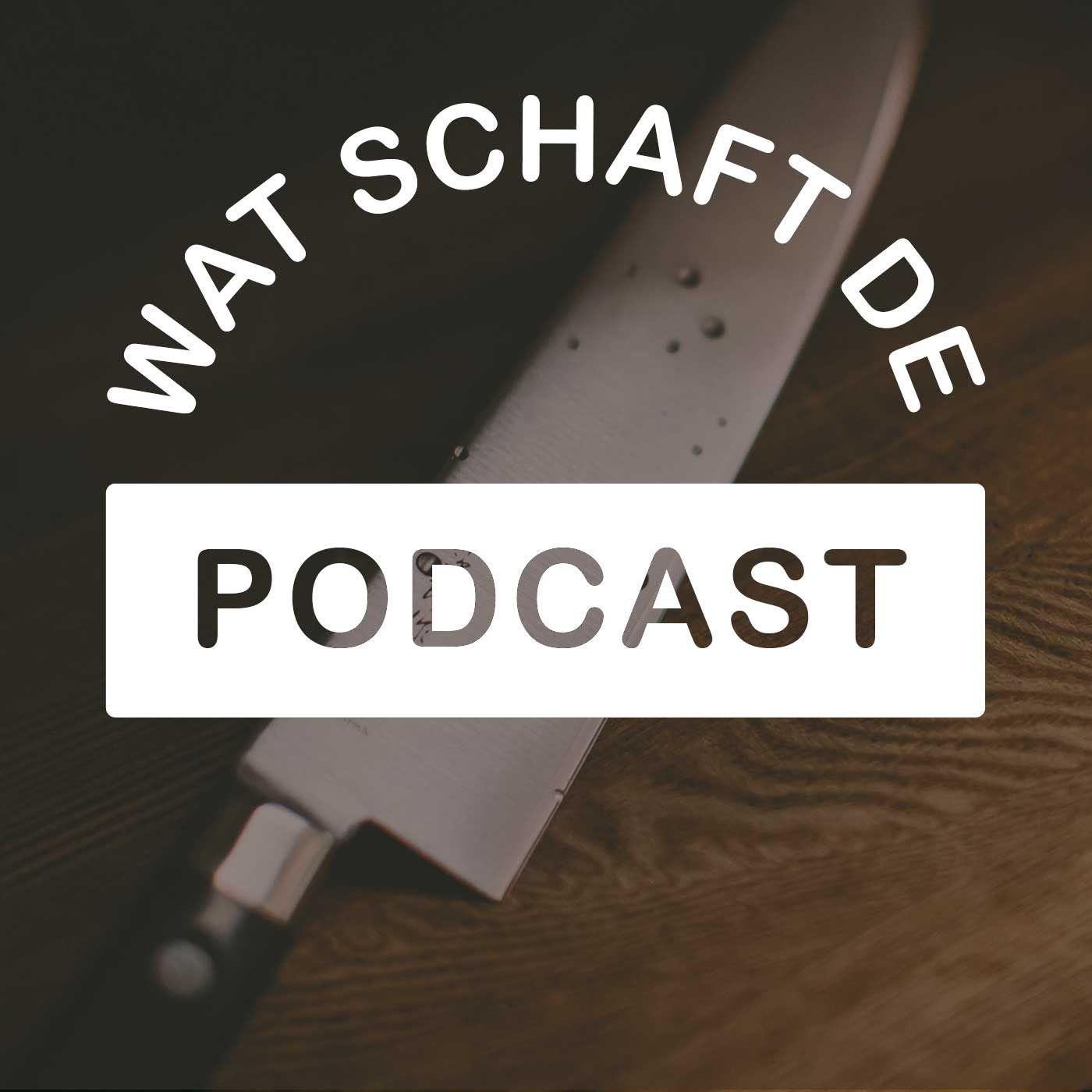 Wat Schaft de Podcast logo