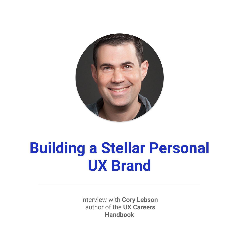 Building a Stellar Personal UX Brand