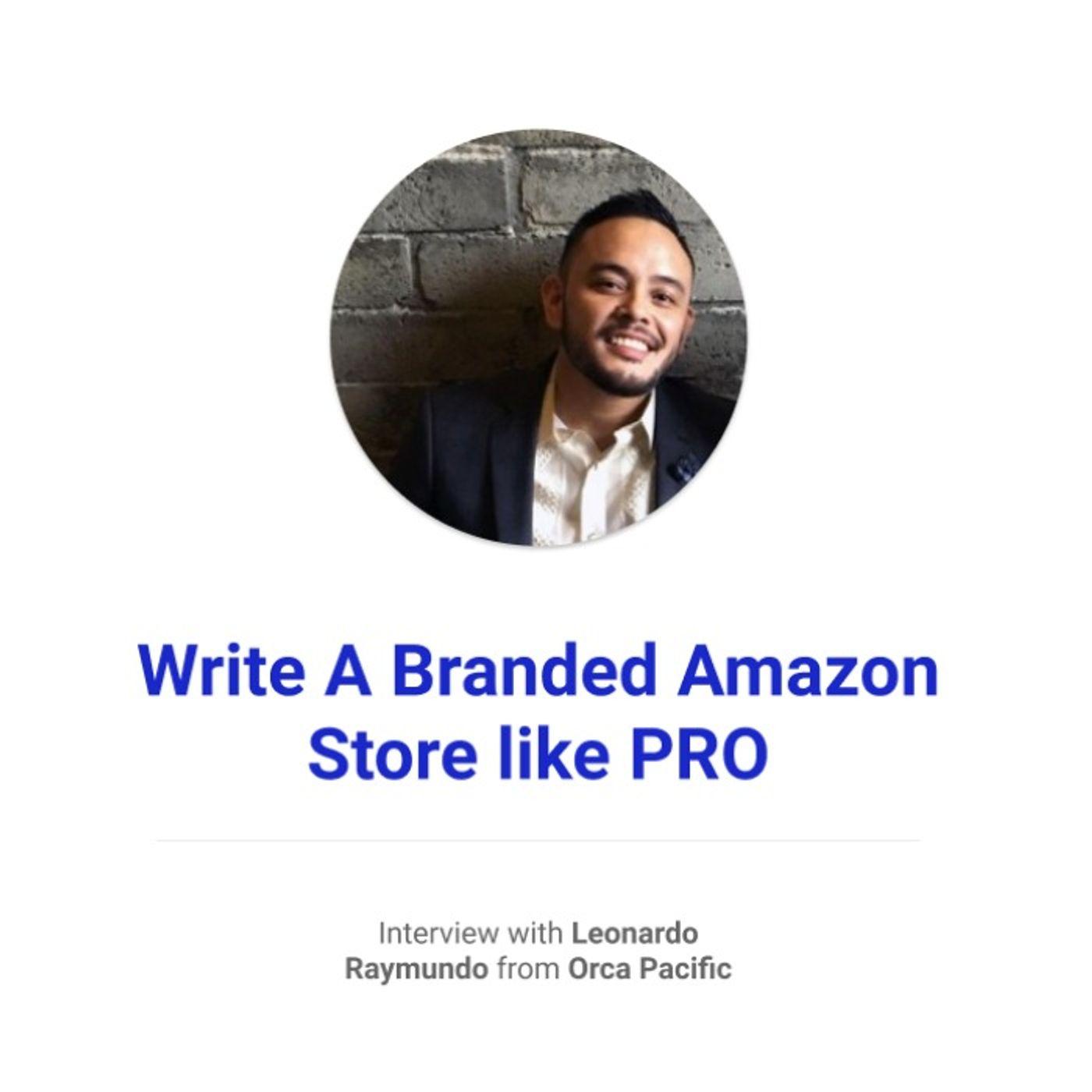Write A Branded Amazon Store like PRO