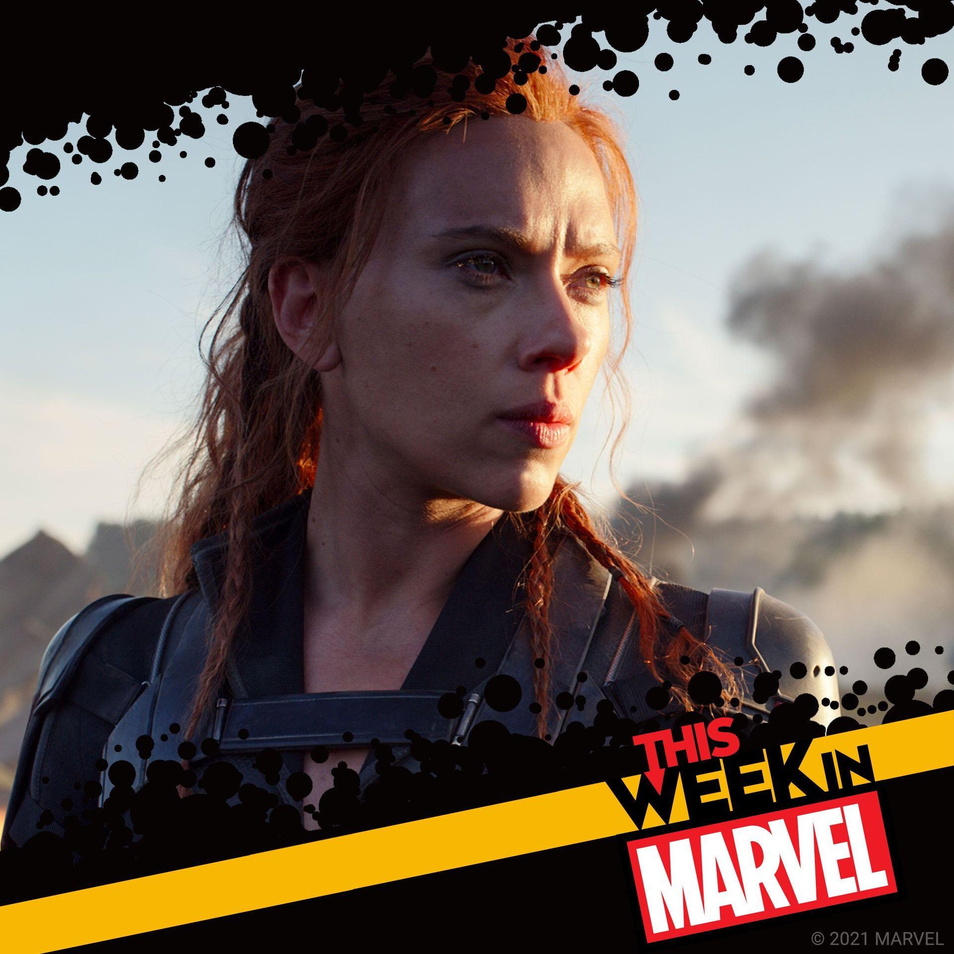 Scarlett Johansson & Florence Pugh talk Black Widow! Plus Loki Finale!