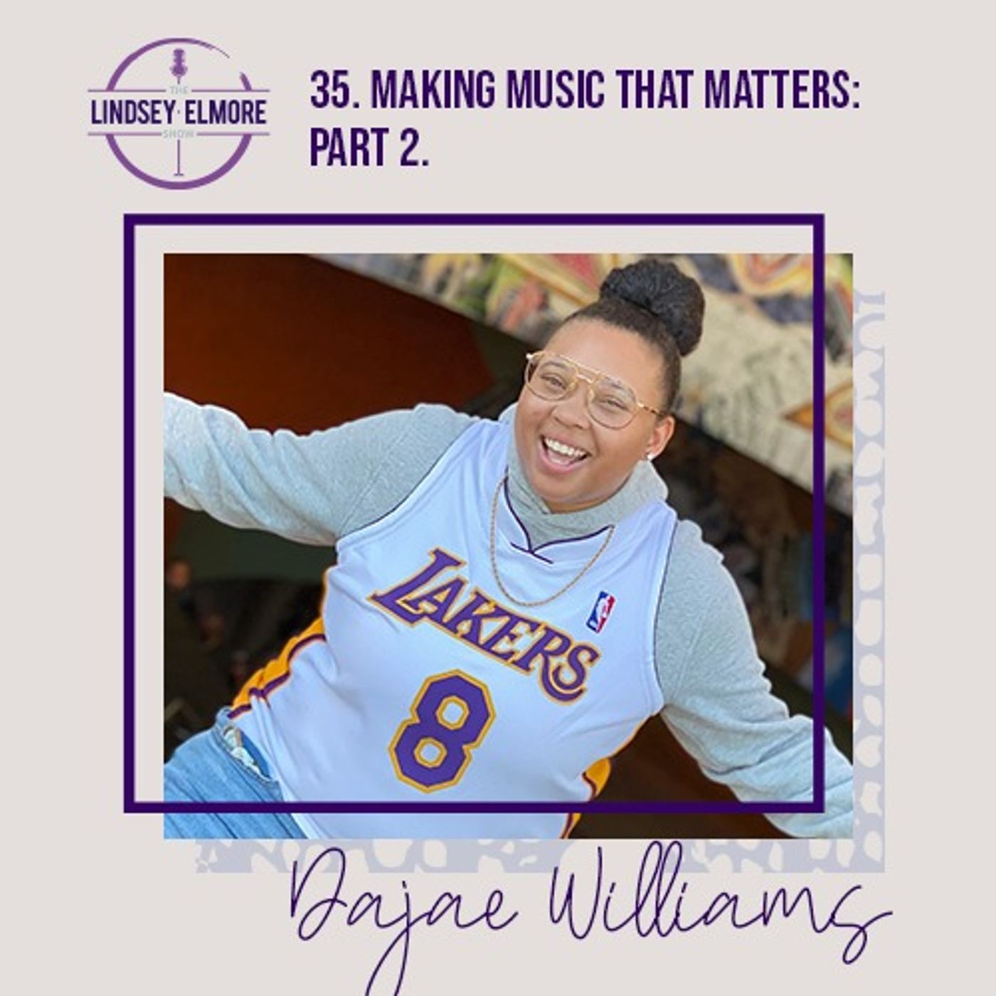 Making music that matters: part 2. An interview with Dajae Williams.