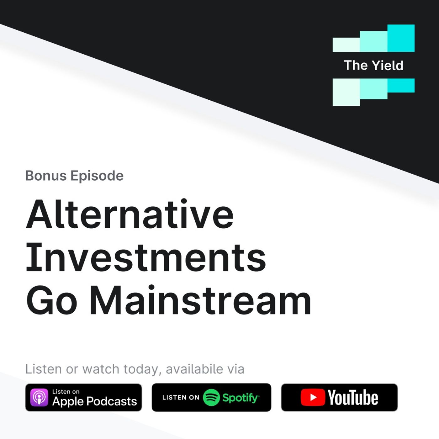 Alternative Investments Go Mainstream featuring Milind Mehere & Kevin Mirabile