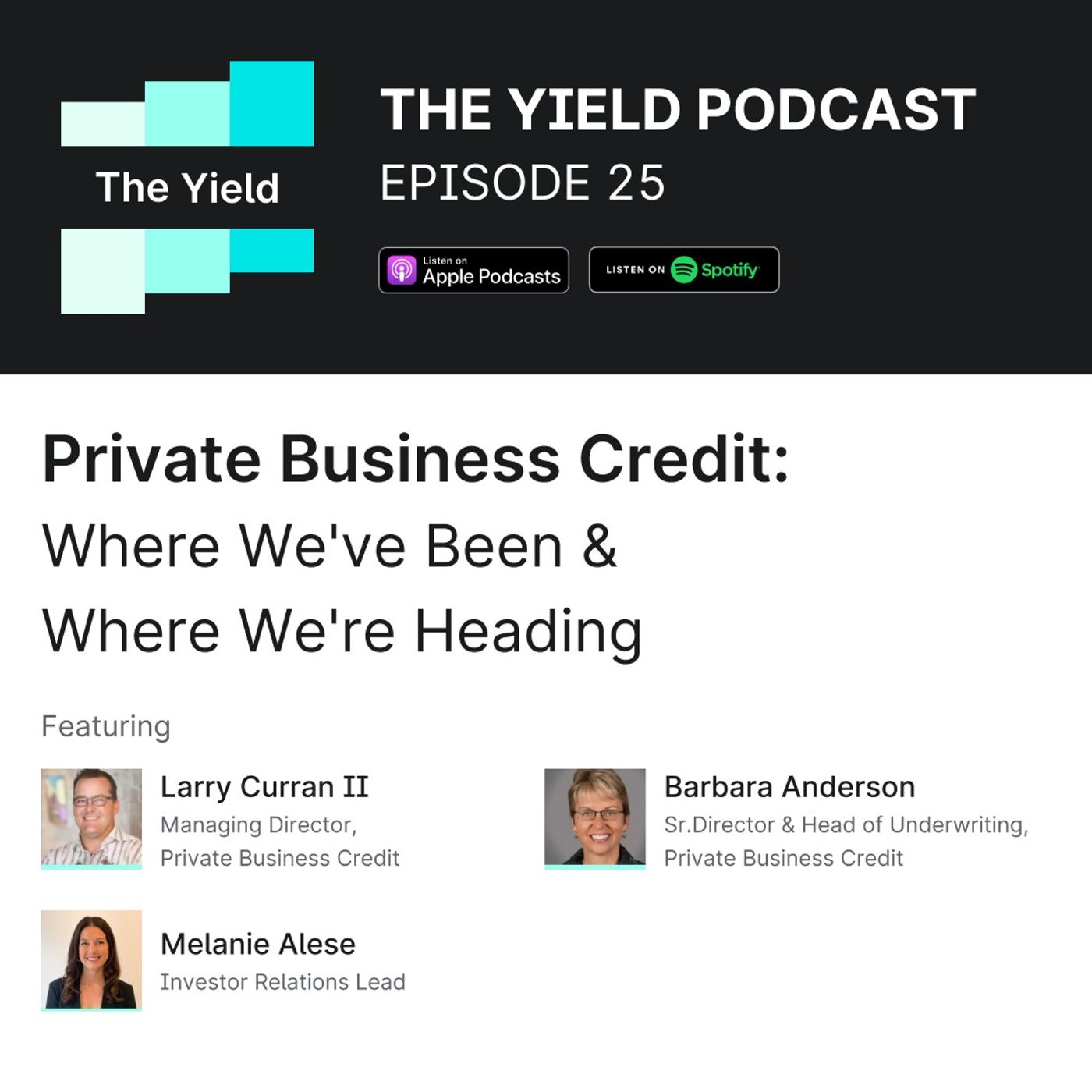 Private Business Credit: Where We've Been & Where We're Heading