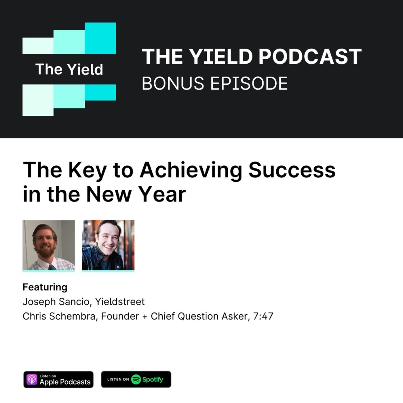 BONUS Episode: The Key to Achieving Success in the New Year