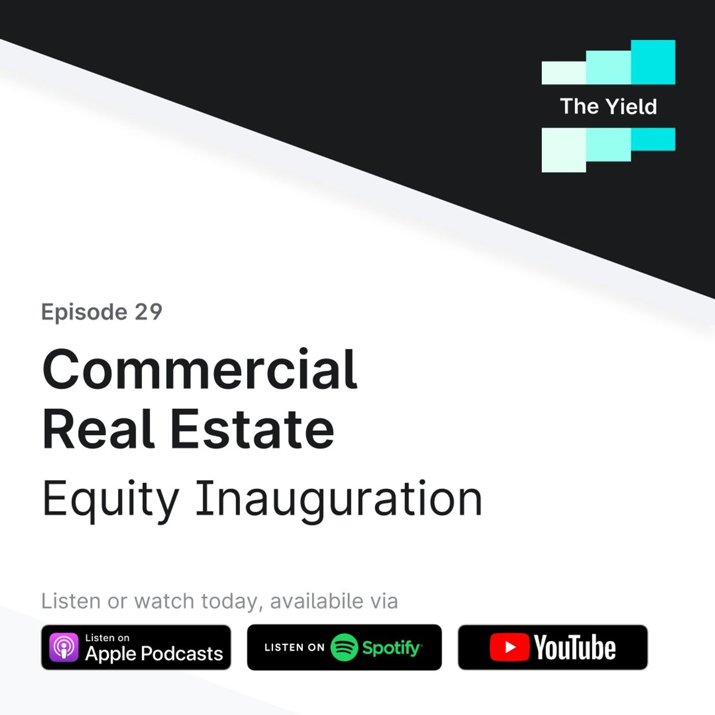 Commercial Real Estate: Equity Inauguration