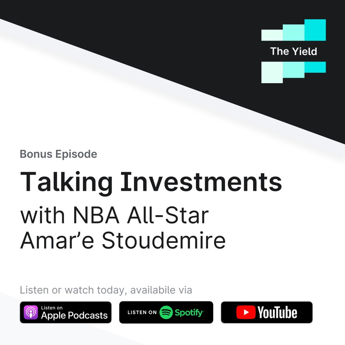 Talking Investments with NBA All-Star Amar'e Stoudemire:Yieldstreet