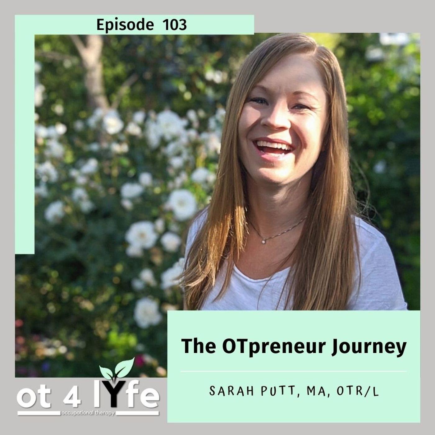 The OTpreneur Journey