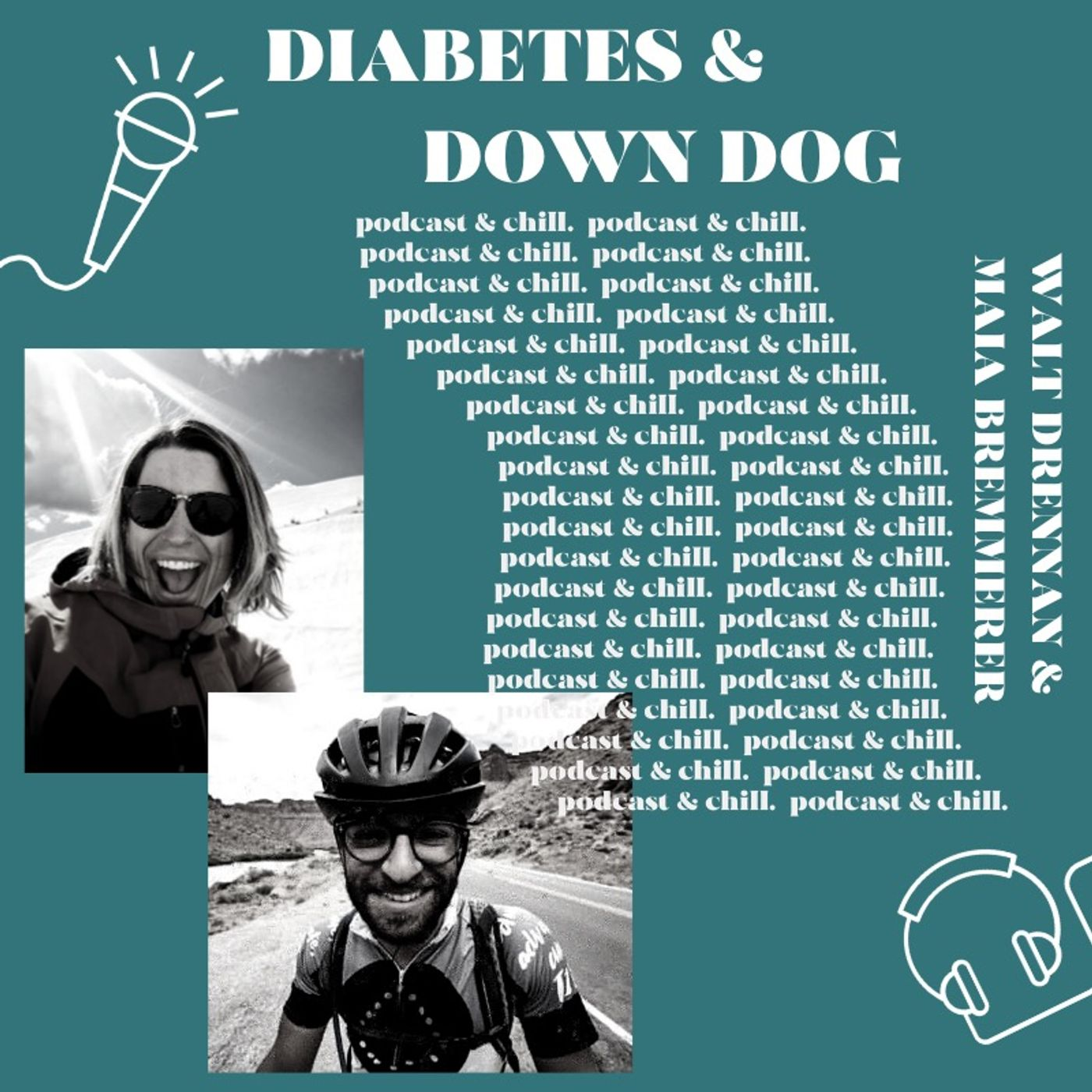 Walt Drennan & Maia Bremmerer - diabetes & down dog