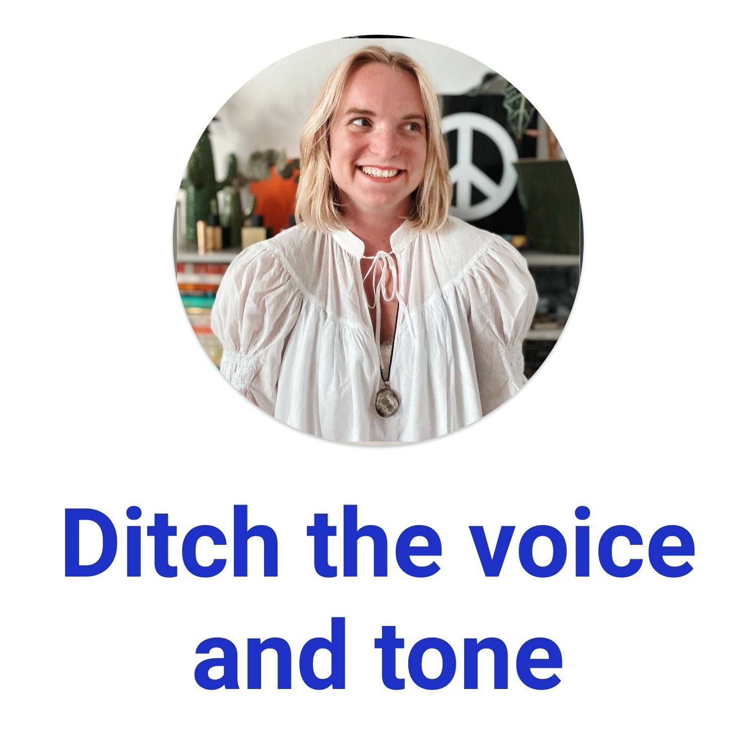 Ditch the voice and tone with Nicole Michaelis @ Spotify