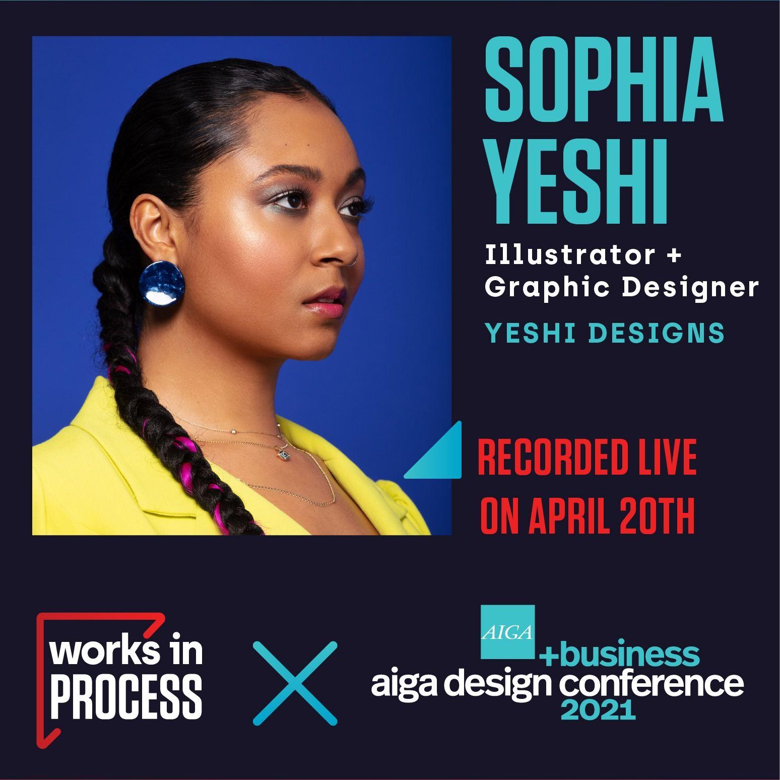 Sophia Yeshi - Say no, more often! (AIGA D+B Series)