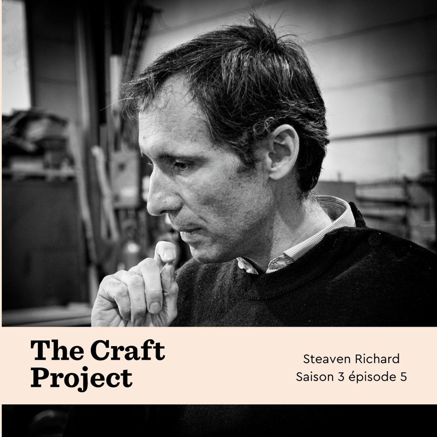 Ferronnier explorateur de métal, Steaven Richard