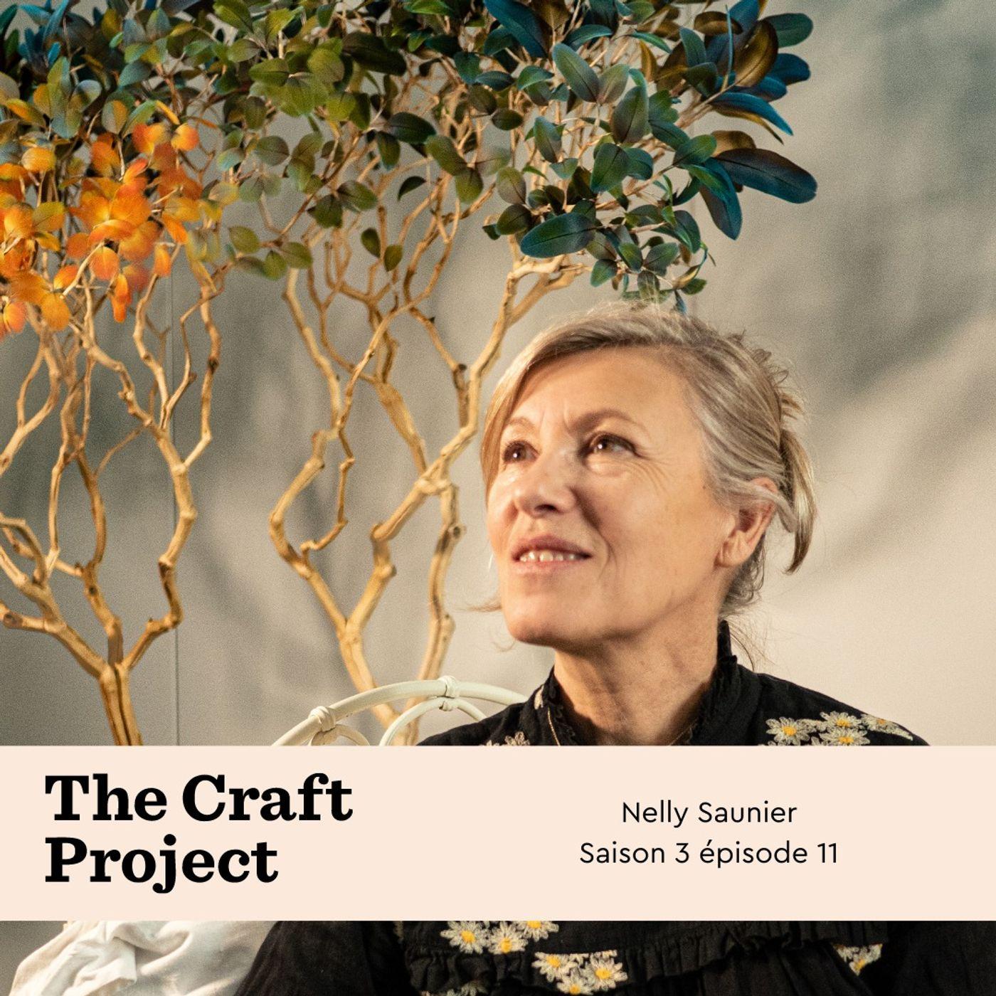 Nelly Saunier, artiste plumassière