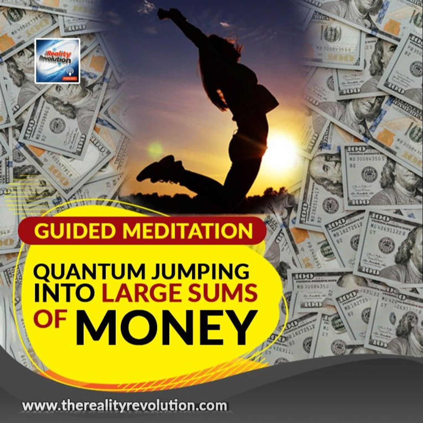 Guided Meditation - Quantum Jumping Into Large Sums Of Money