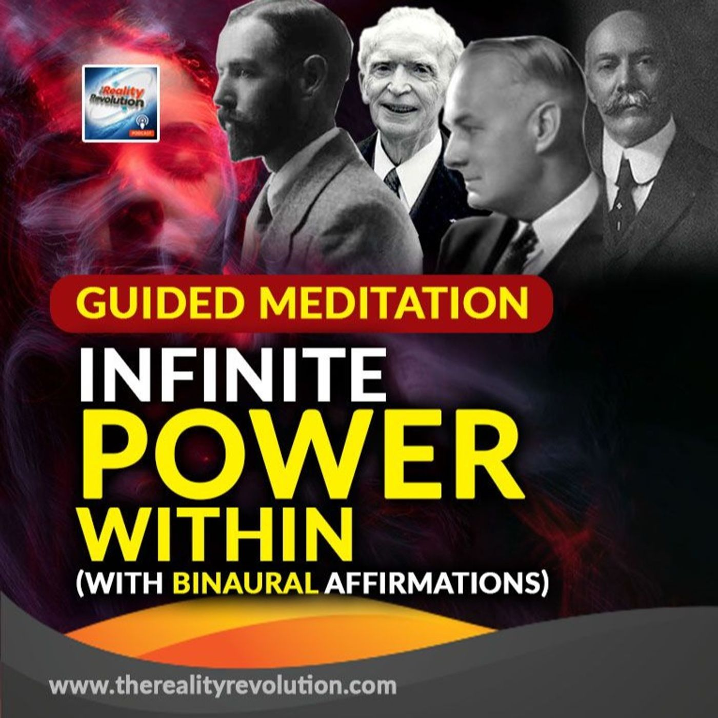 Guided Meditation - Infinite Power Within (With Binaural Affirmations)