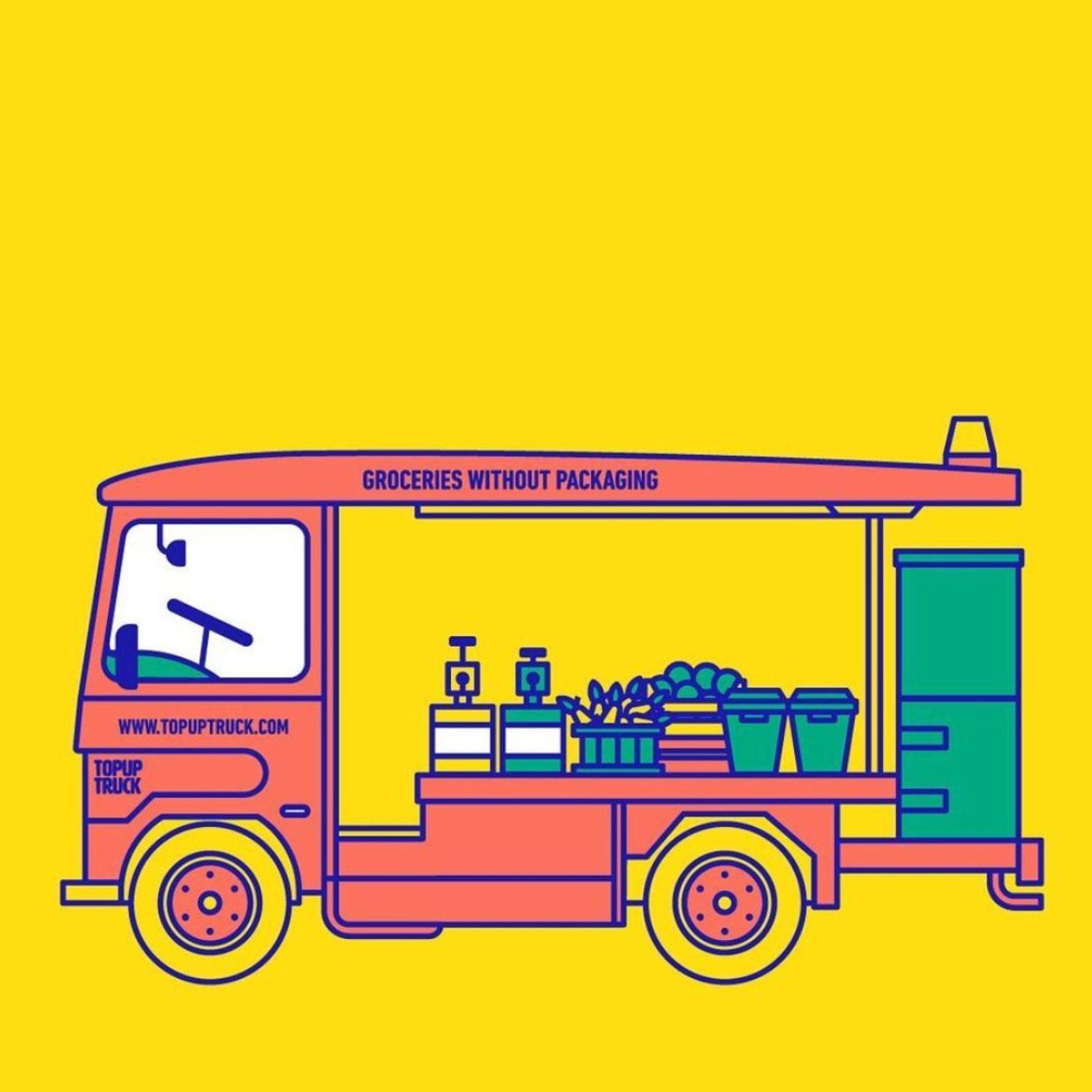 TOPUP TRUCK - Mobile Zero-Waste Shop