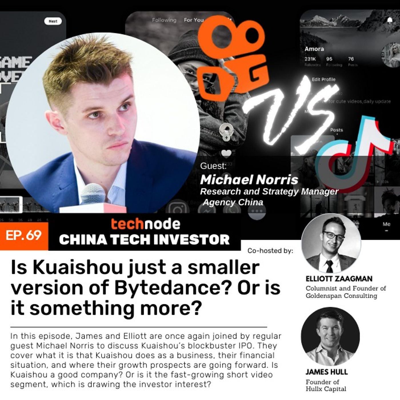 CTI 69: Is Kuaishou just a smaller version of Bytedance? Or is it something more? With Michael Norris