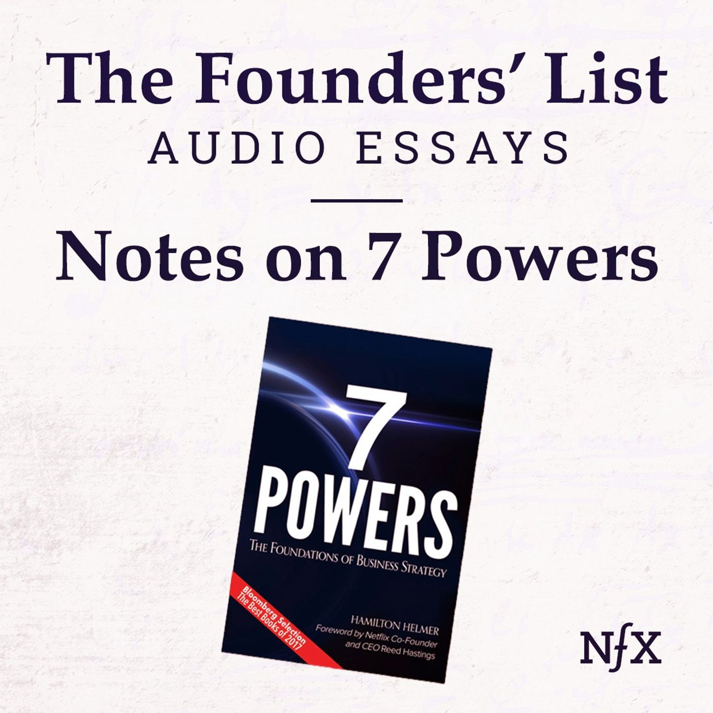 The Founders' List: Mind the Moat: Notes on 7 Powers (written by Hamilton Helmer) from Flo Crivello (Founder & CEO Teamflow)
