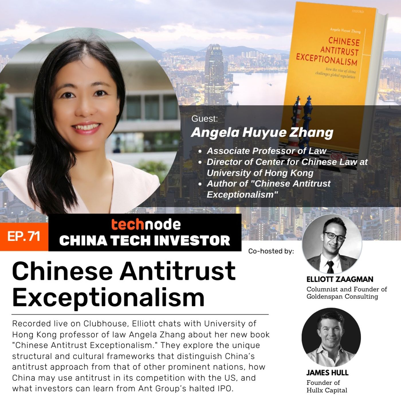 CTI 71: Chinese Antritrust Exceptionalism, with Angela Huyue Zhang