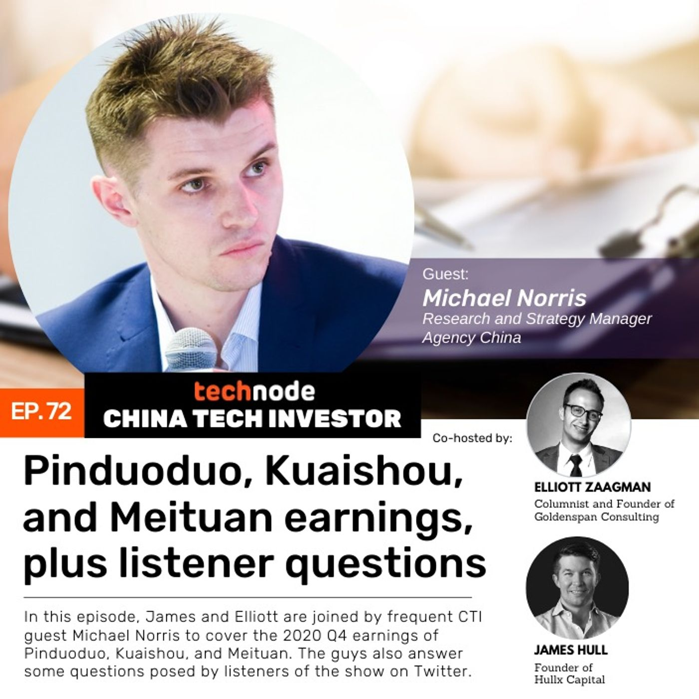 CTI 72: Pinduoduo, Kuaishou, and Meituan earnings, plus listener questions, with Michael Norris