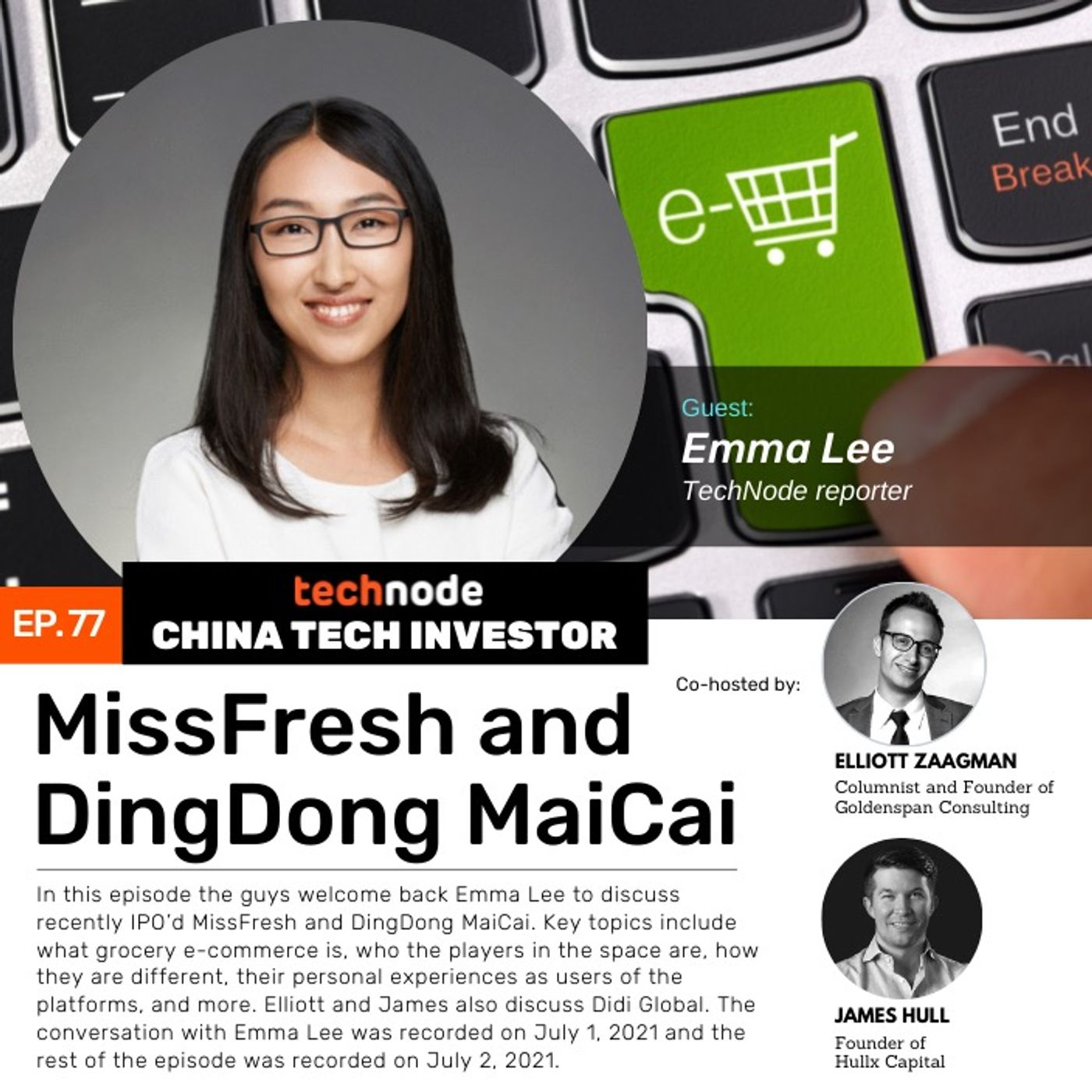 CTI 77: MissFresh and Dingdong Maicai, with Emma Lee