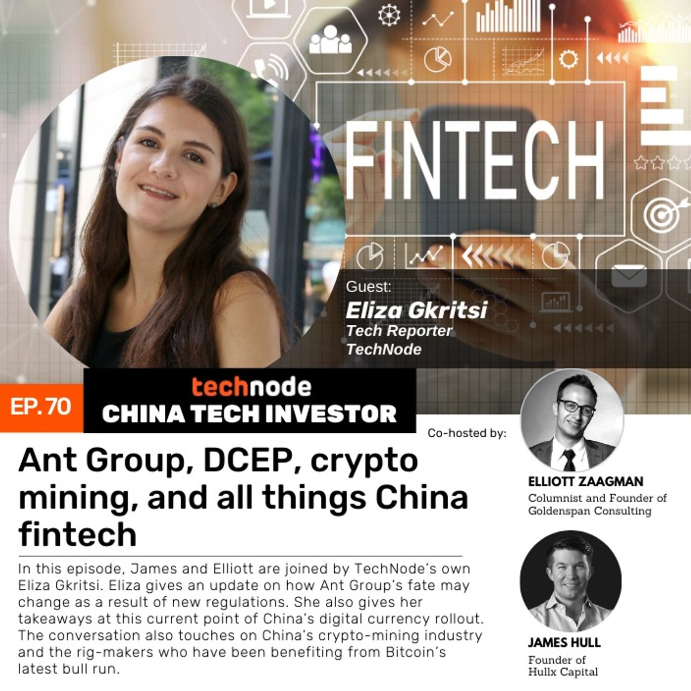 CTI 70: Ant Group, DCEP, crypto mining, and all things China fintech with Eliza Gkritsi