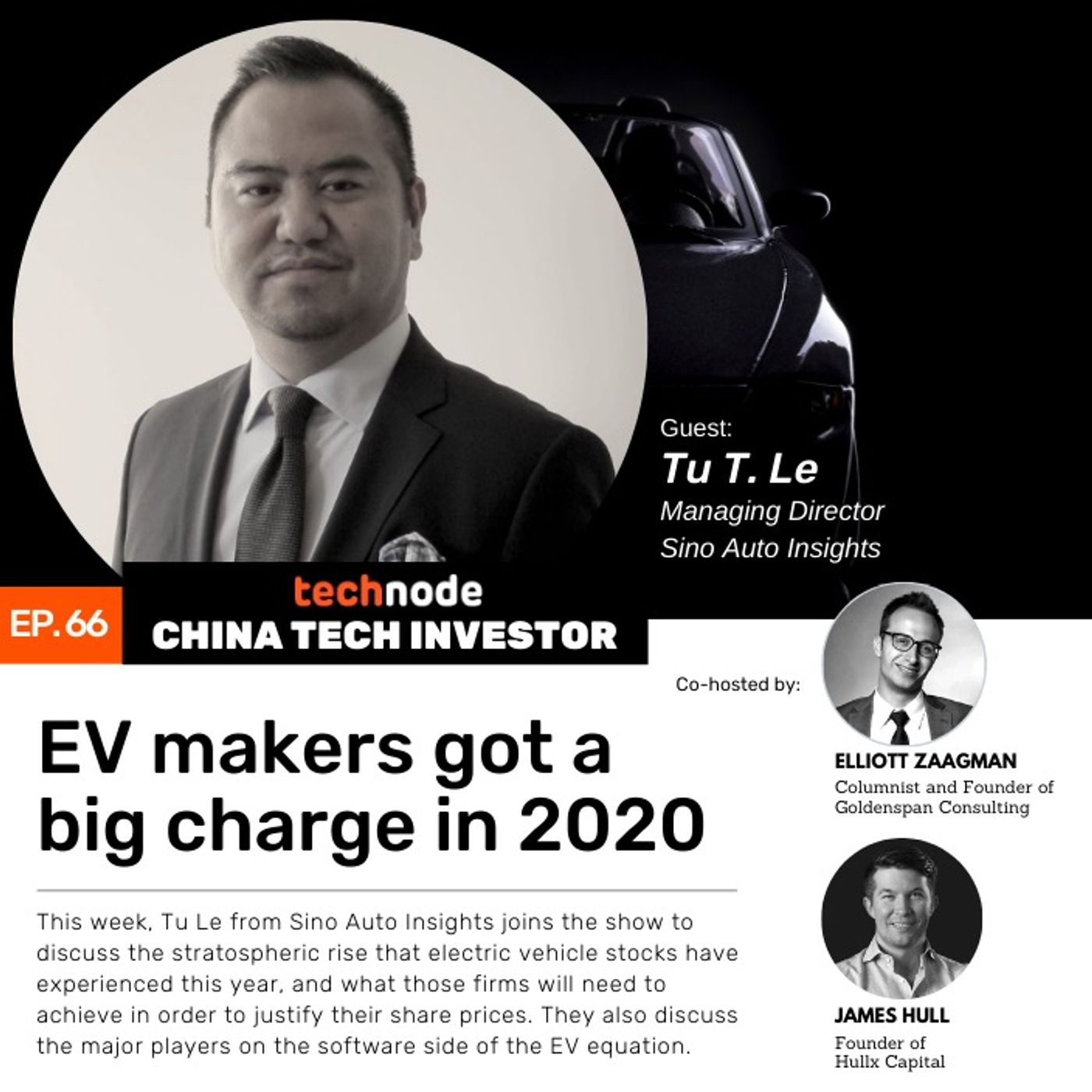 CTI 66: EV makers got a big charge in 2020, with Tu Le