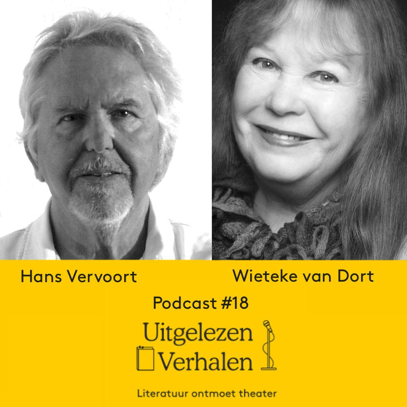 2 jeugdverhalen van Hans Vervoort voorgelezen door Wieteke van Dort