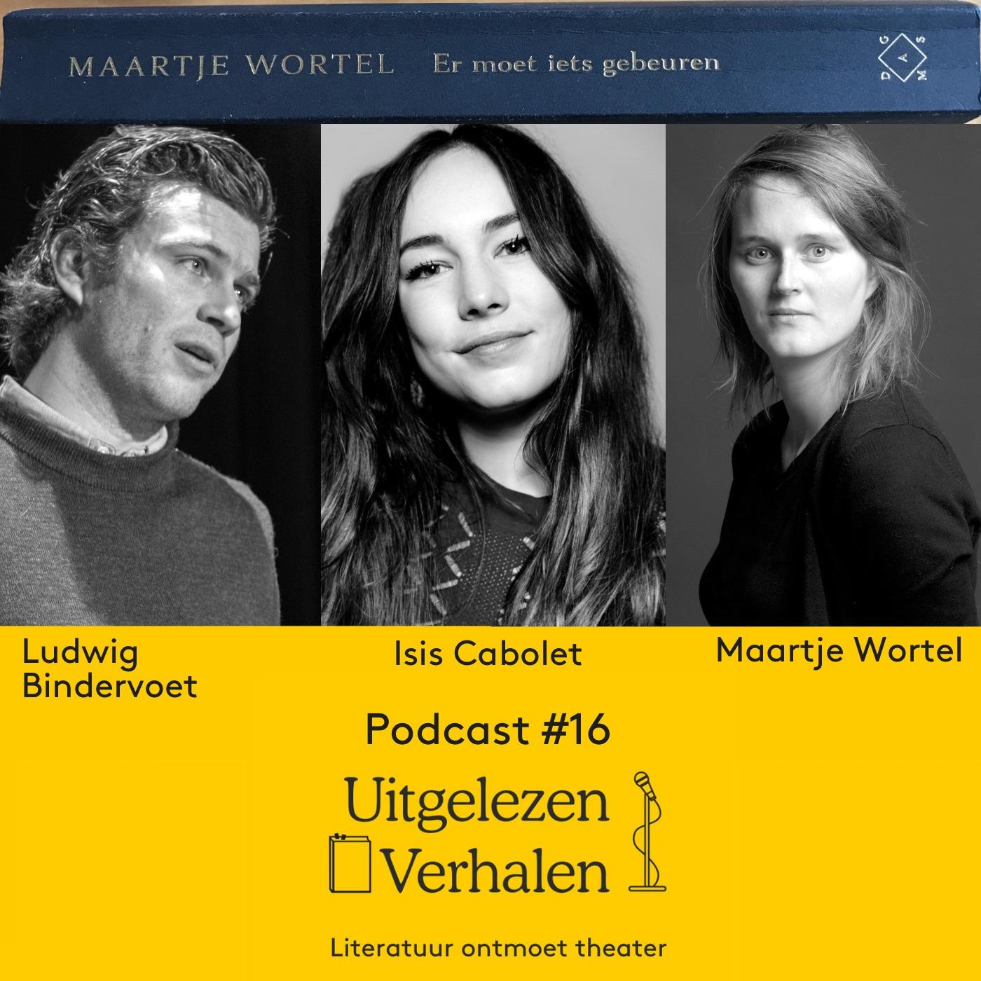 Maartje Wortels verhalen gelezen door Isis Cabolet en Ludwig Bindervoet   nagesprek met schrijver