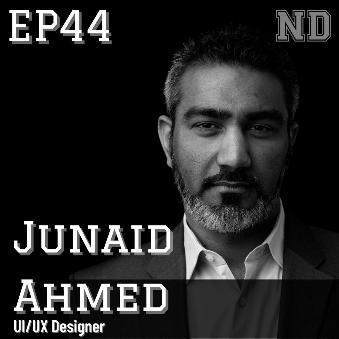Junaid Ahmed, UI/UX Designer