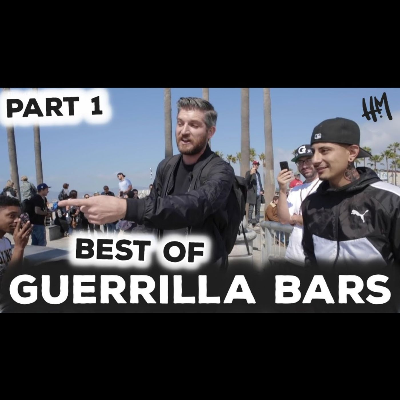 Harry Mack Freestyles Give People A Genuine Smile - Best Of Guerrilla Bars Part 1