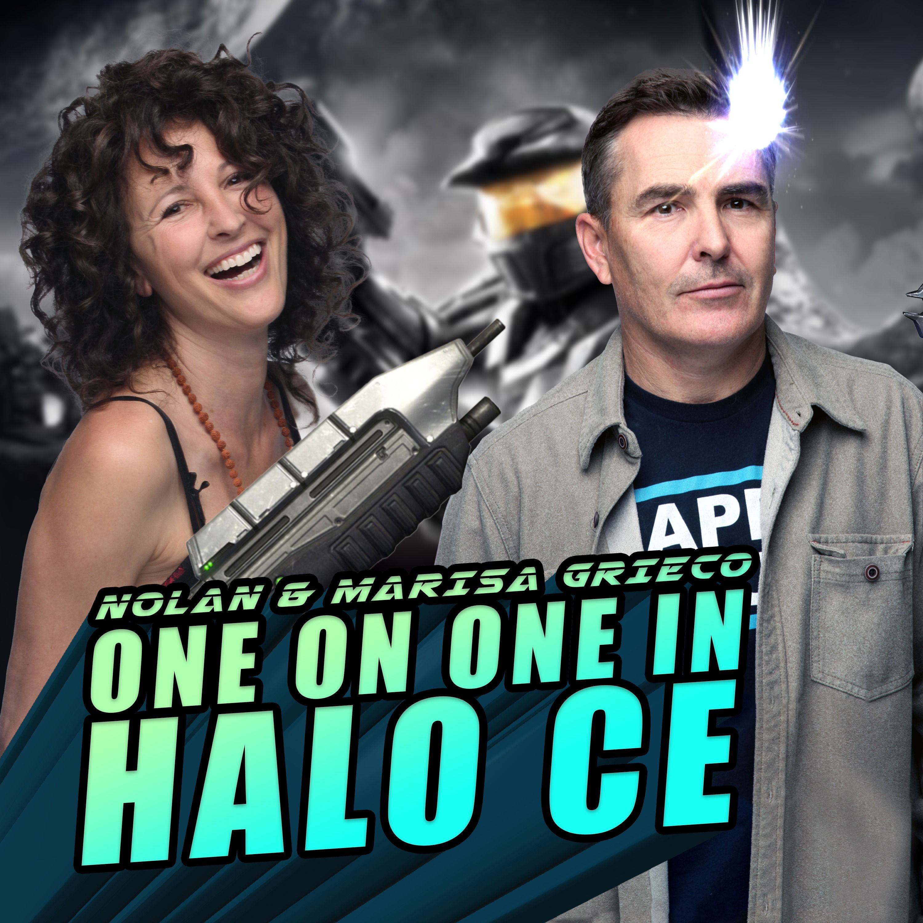 Nolan North & Marisa Grieco Haarsma One on One in Halo: Combat Evolved! | RETRO REPLAY