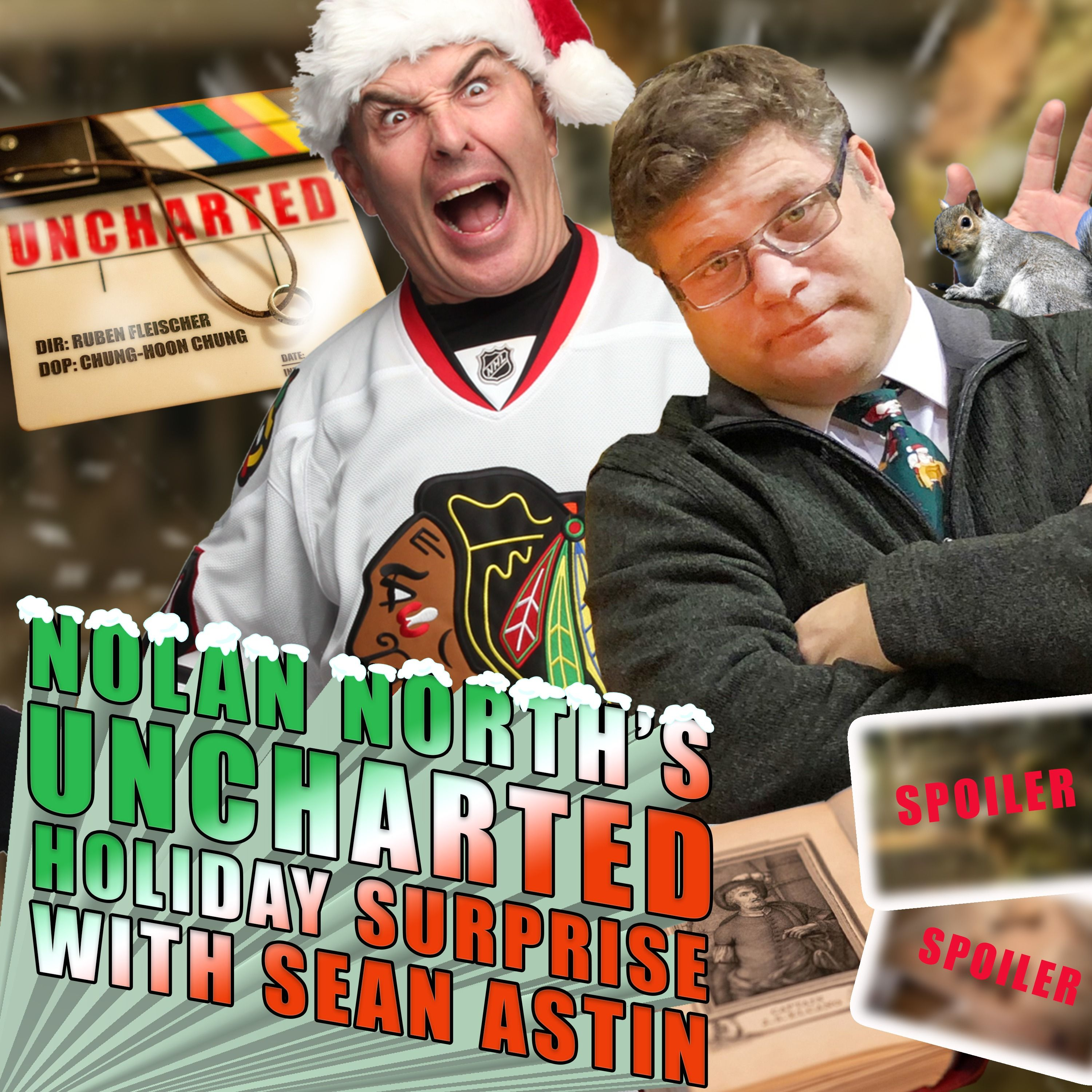 Nolan North's Uncharted Holiday Surprise With Sean Astin | An Exclusive Movie Reveal