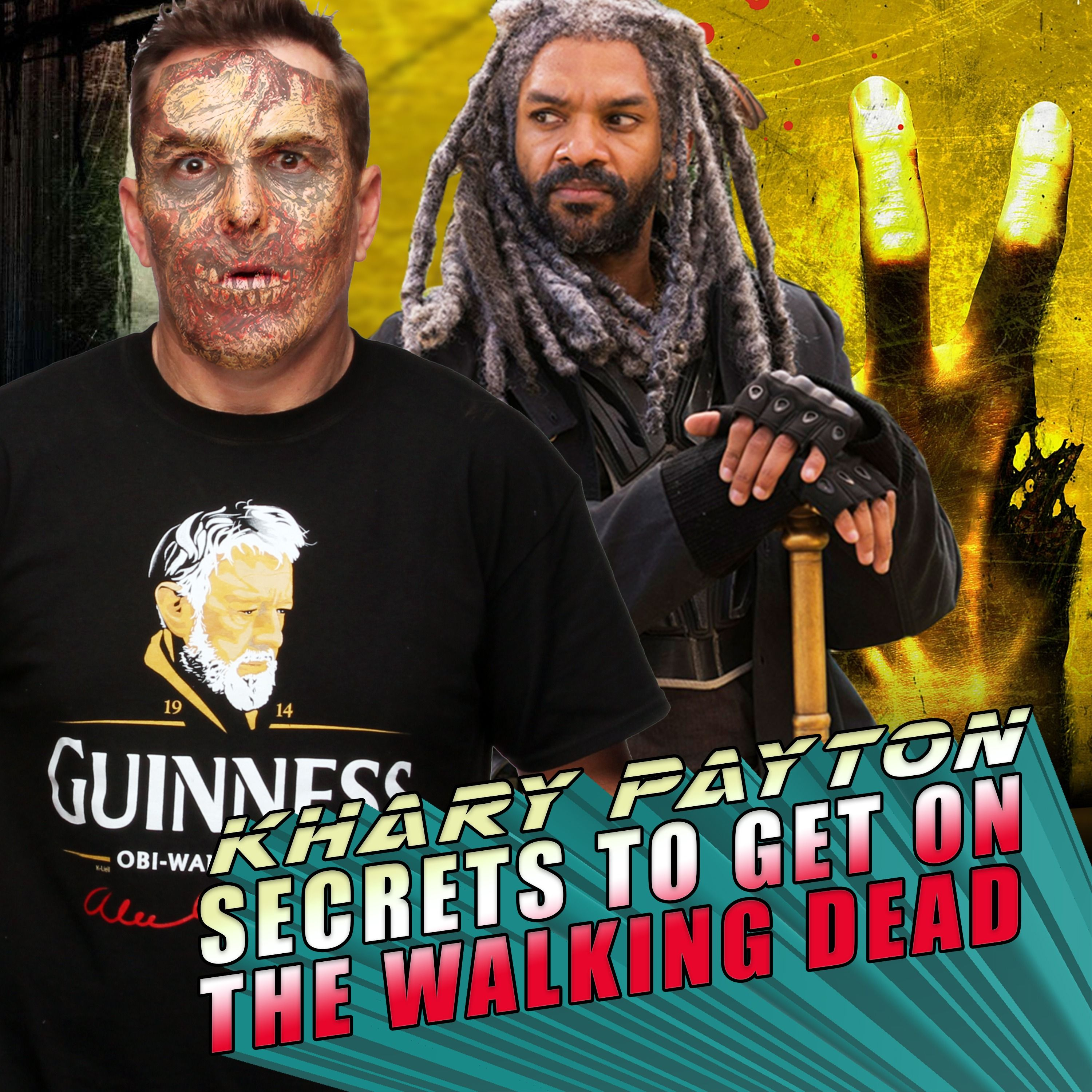 Nolan Asks Khary the Secrets to Get on The Walking Dead! | RETRO REPLAY
