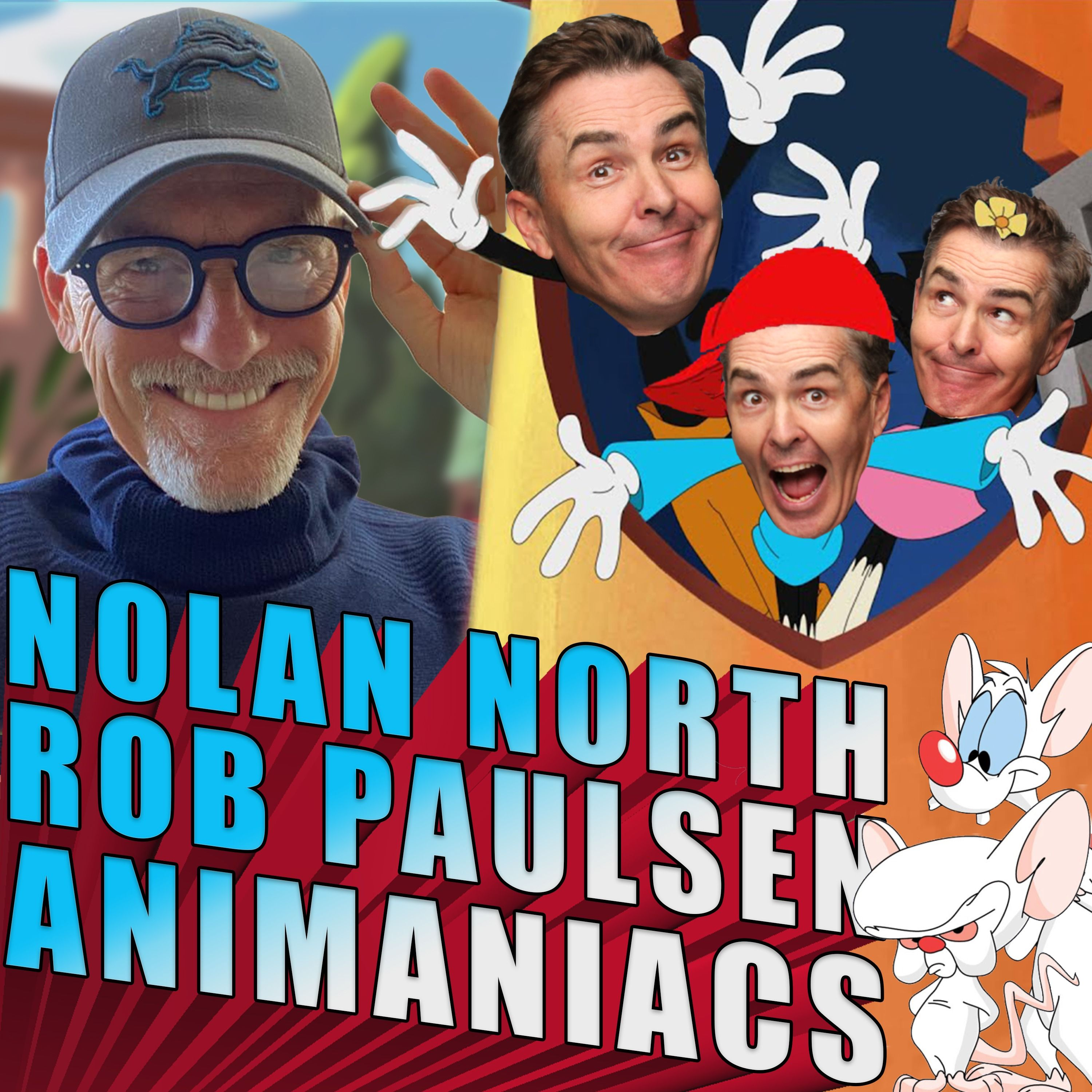 Nolan North, Rob Paulsen, and Animaniacs | RETRO REPLAY