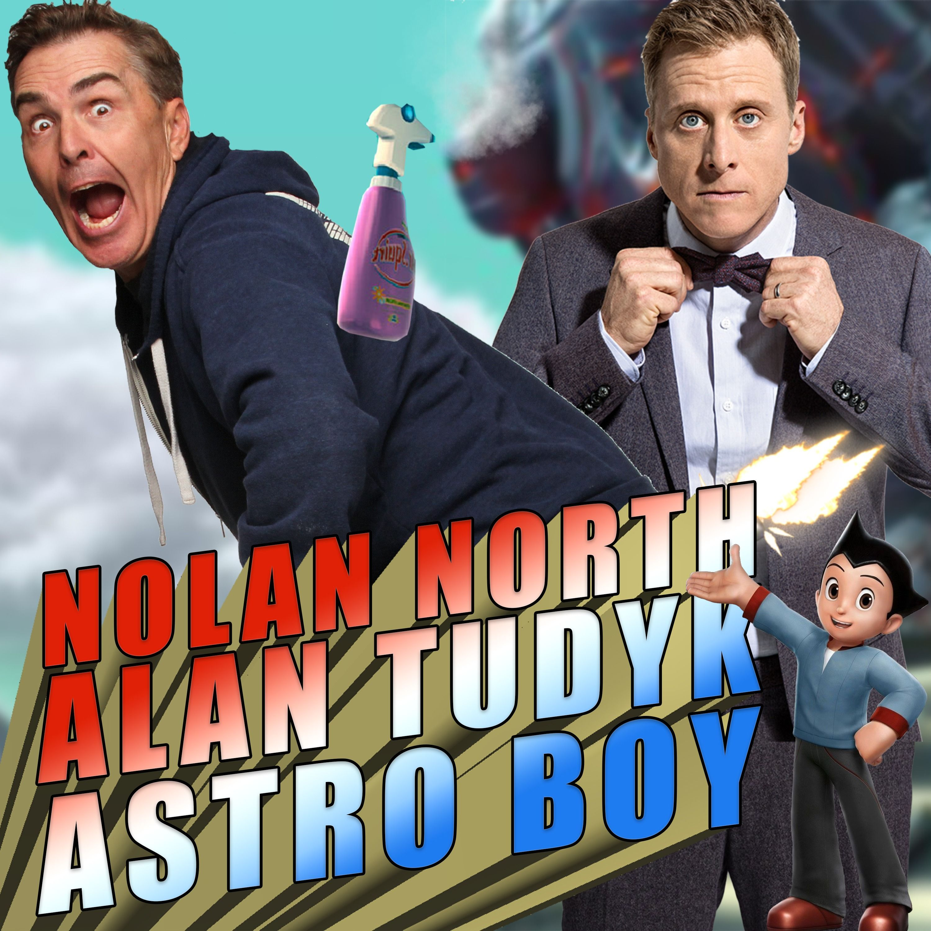Nolan North, Alan Tudyk, and Astro Boy | RETRO REPLAY