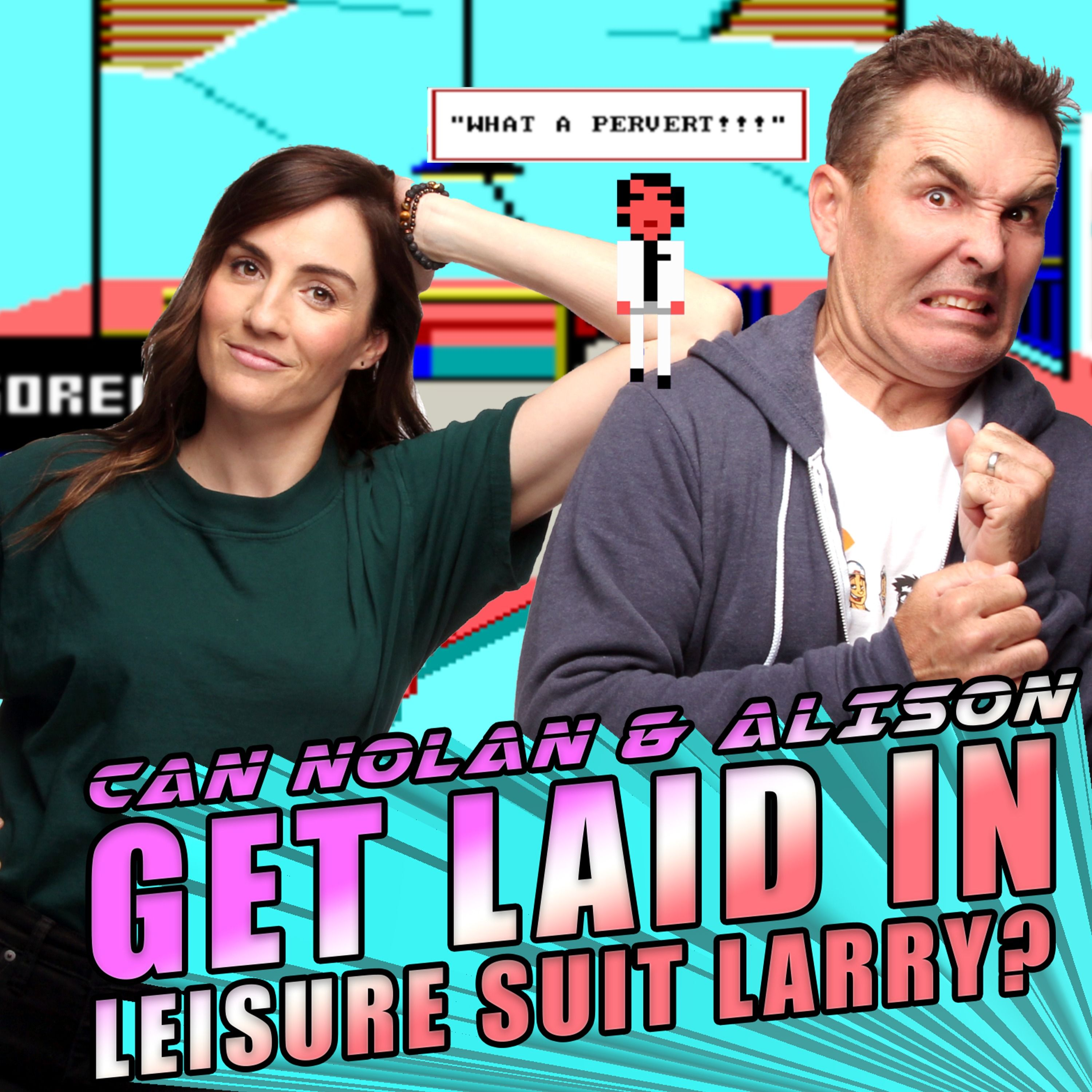 Can Nolan and Alison Get Laid in Leisure Suit Larry? | RETRO REPLAY