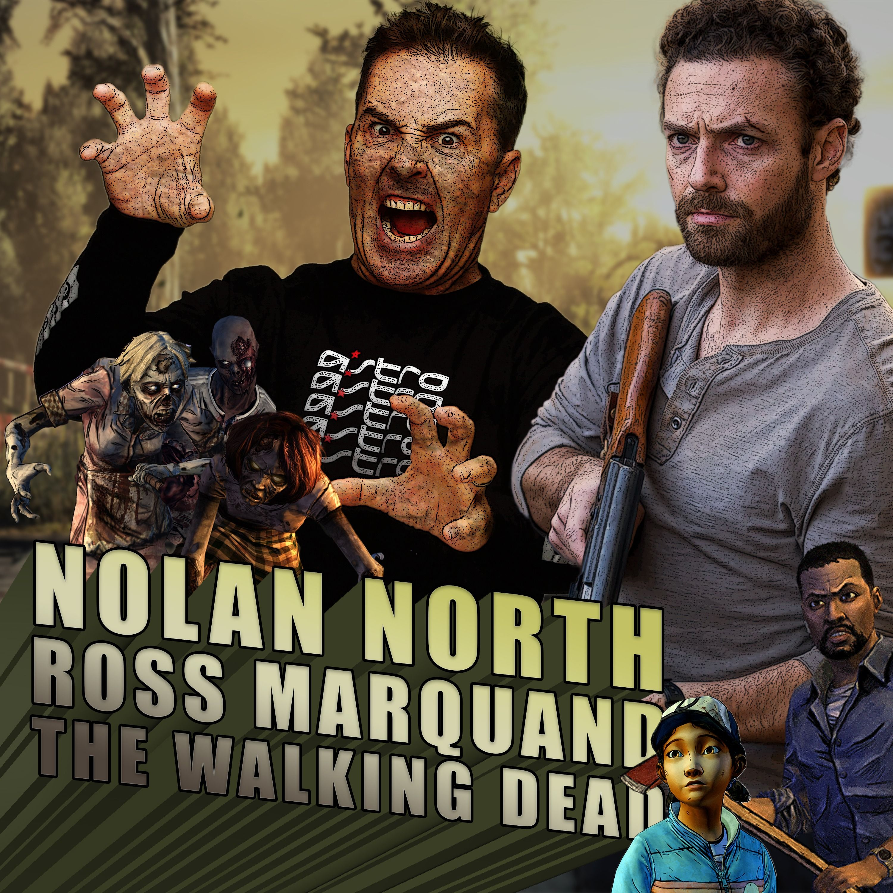 Nolan North - Ross Marquand - The Walking Dead | RETRO REPLAY