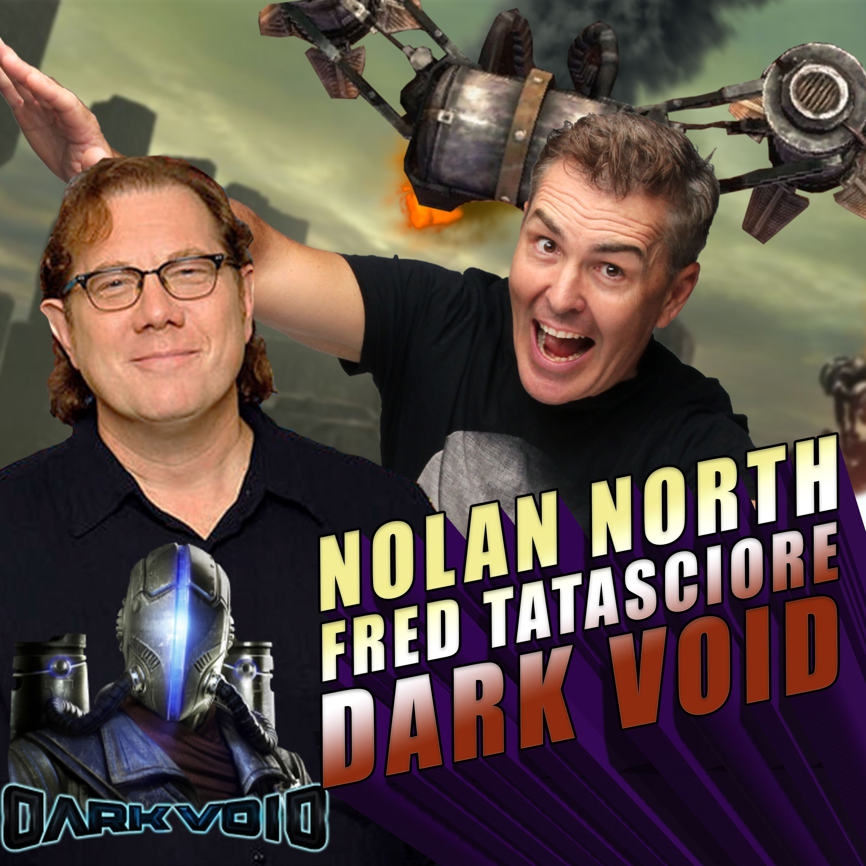 Nolan North and Fred Tatasciore Dive Into the Dark Void | RETRO REPLAY