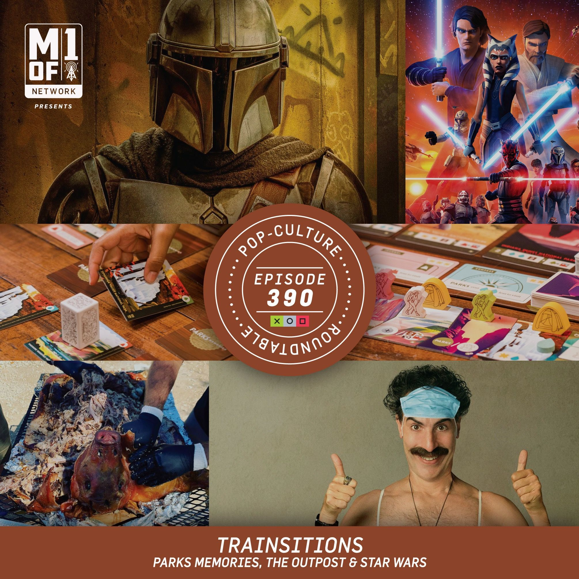 PCR: Trainsitions - Parks Memories, The Outpost & Star Wars
