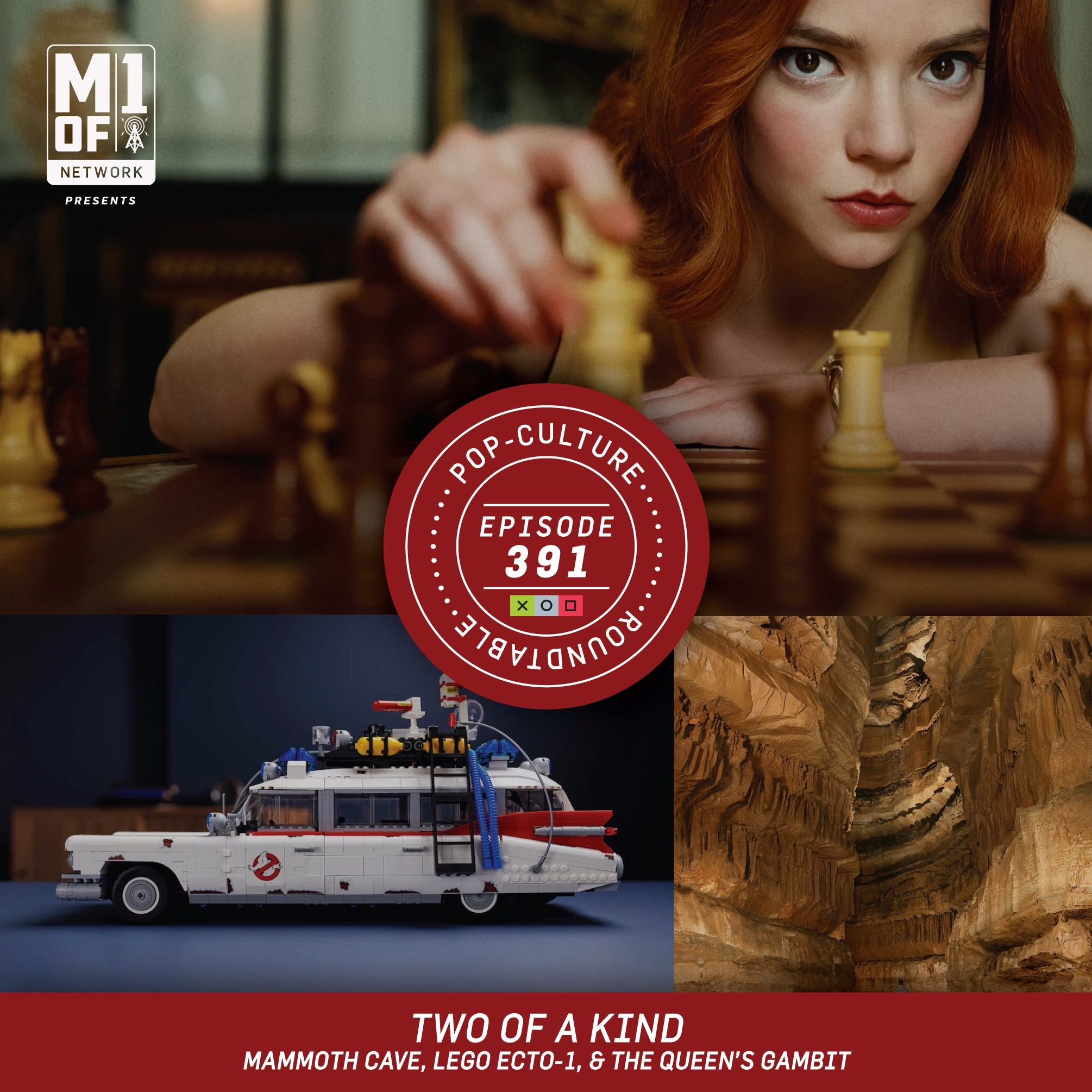 PCR: Two of a Kind - Mammoth Cave, Lego Ecto-1, & the Queen's Gambit