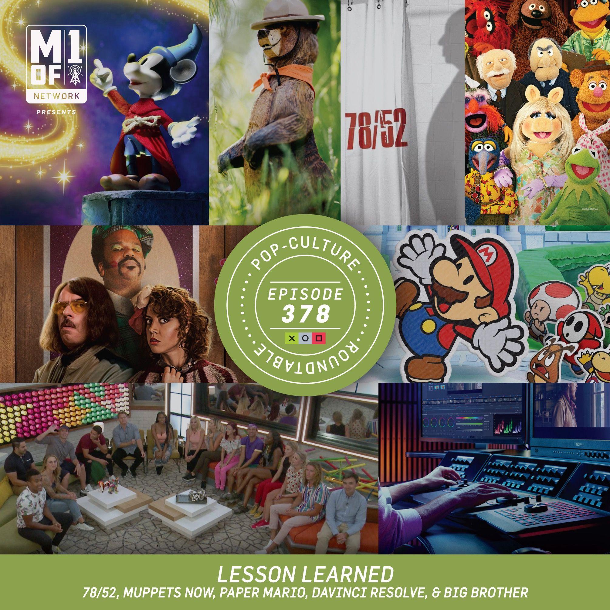 PCR: Lesson Learned - Da Vinci Resolve, Muppets Now! & Paper Mario
