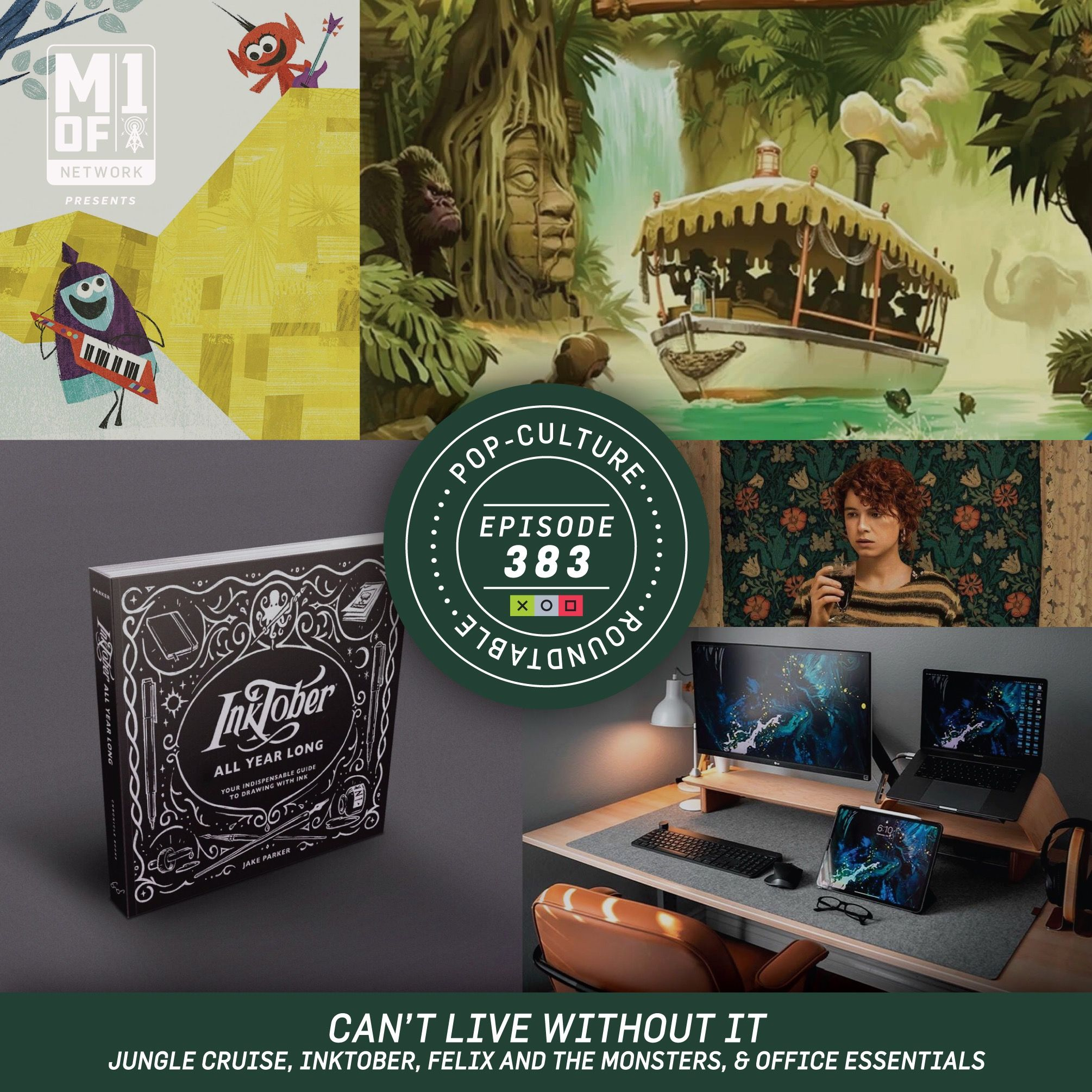 PCR: Can't Live Without It - Jungle Cruise, Inktober, & Office Essentials