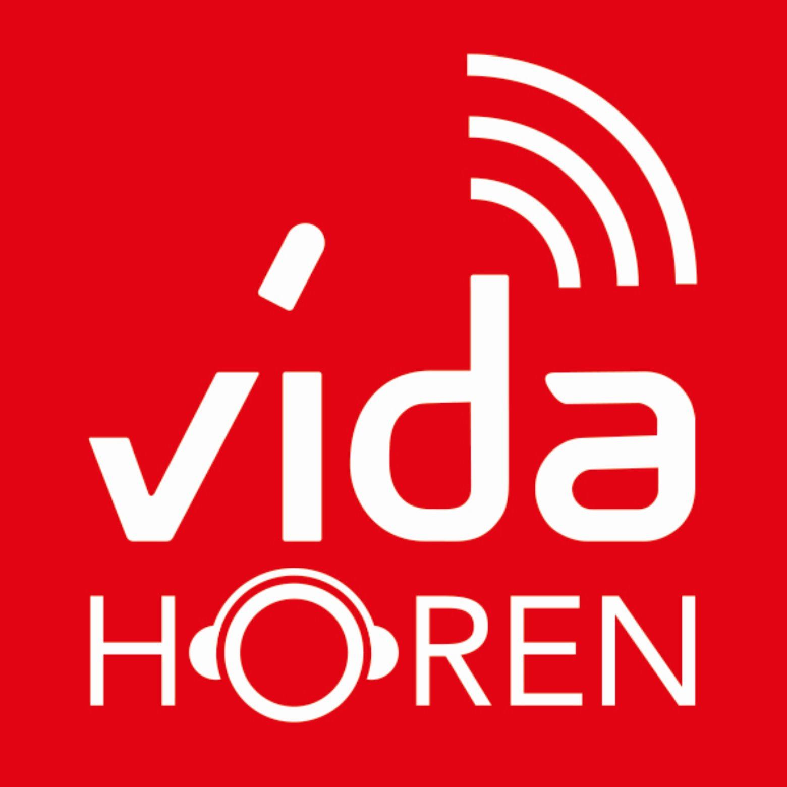 Podcast - vidaHören Logo