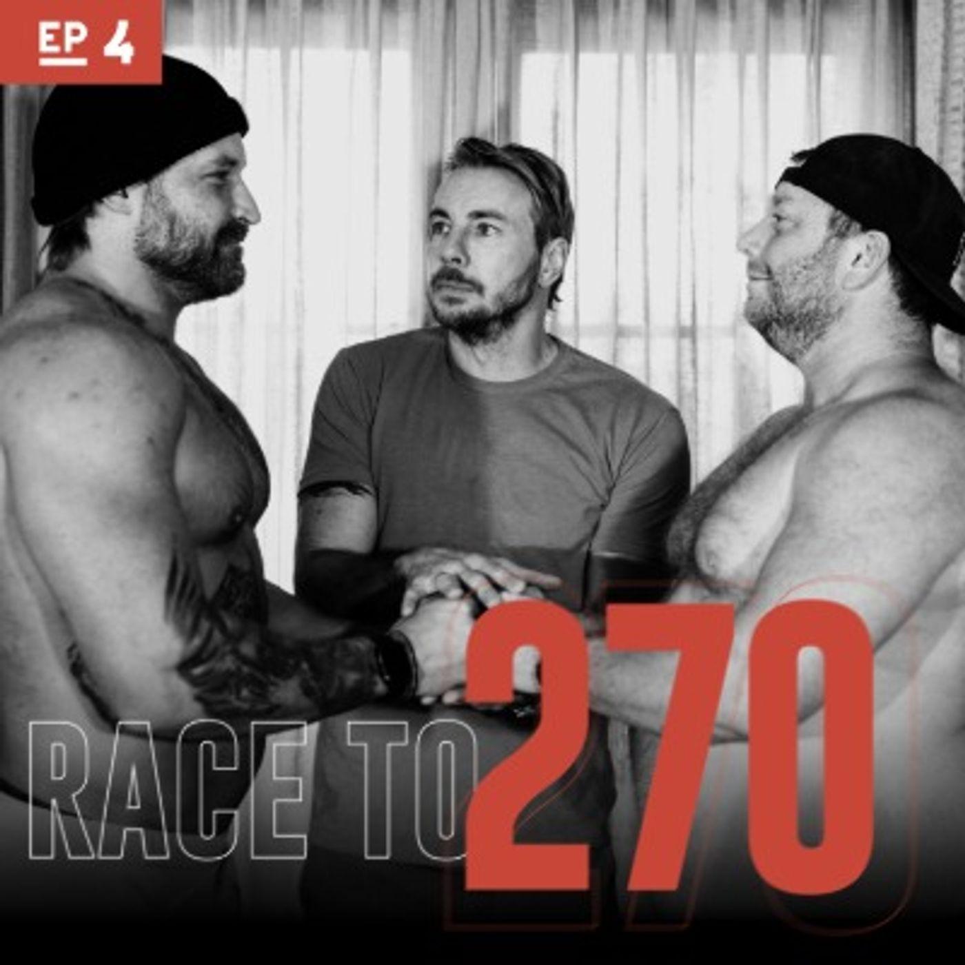 Race to 270: Body Bronzer & Big Dan with his Big Chrome Ferrari