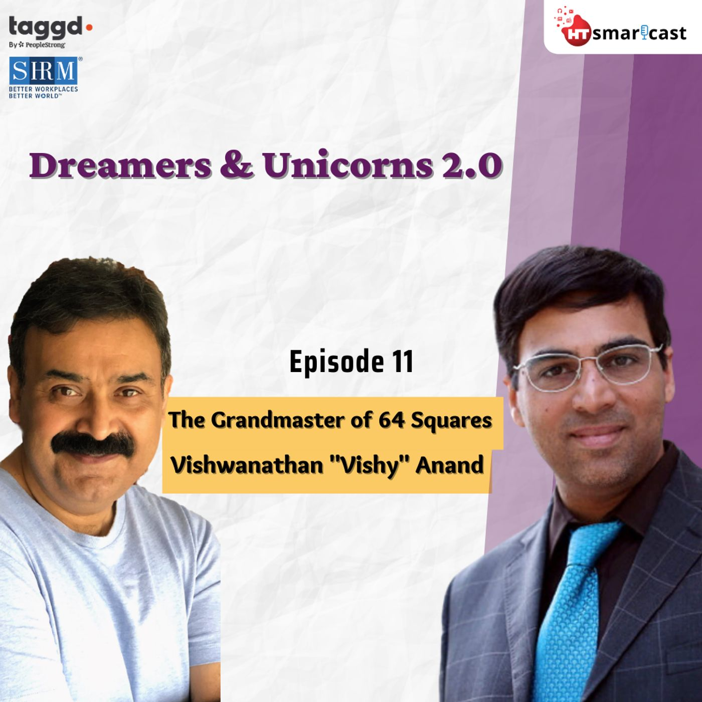 "12: The Grandmaster of 64 Squares  - Vishwanathan ""Vishy"" Anand"