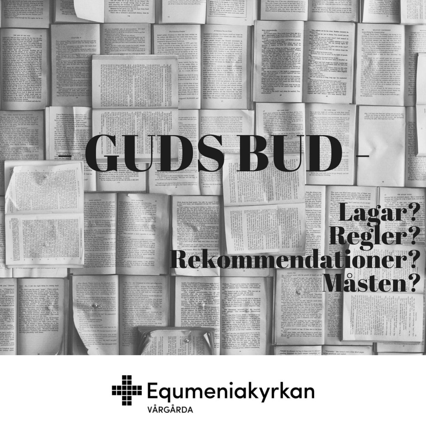 Bud, regler eller rekommendationer? De 10 Guds bud – John Eidering, 210919