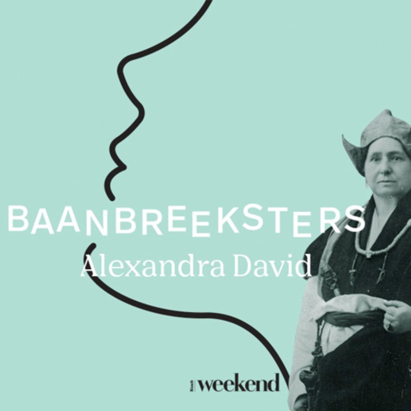 #1 Alexandra David: de Belgische operazangeres die de wereld rondtrok